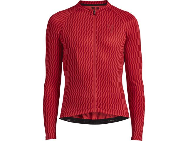 VOID Maglia jersey a maniche lunghe Uomo, red